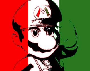 Mario represents Italy by TheGamingArchivist