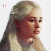 Khaleesi by Ohlleen