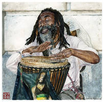 Drummer by CamillaMalcus