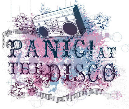 Panic at the Disco Shirt by so-aesthetic