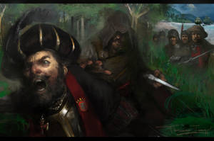 Assassino matando Vasco da Gama by fernandoissamo
