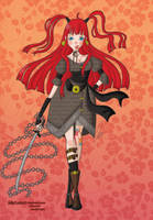 Warrior Girl by JellyCustard
