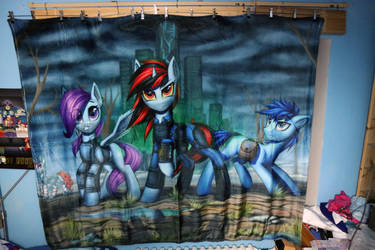 Fallout Equestria blanket by Art-N-Prints