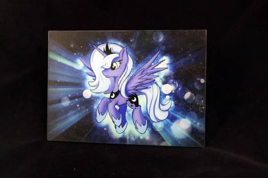 Luna glass cutting board by Art-N-Prints