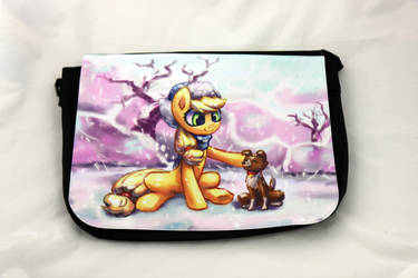 Applejack and Winonna Messenger Bag by Art-N-Prints