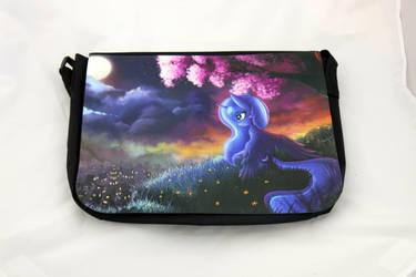 Luna Messenger Bag by Art-N-Prints