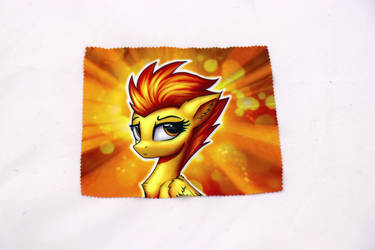 Spitfire Glasses Cleaning Cloth by Art-N-Prints