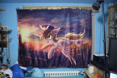 Mailmare Derpy Fuzzy Blanket by Art-N-Prints