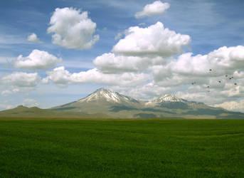 Hasandagi - Mount Hasan by olgakofti