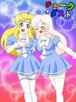 Ayumi and Seisei by Nyaly