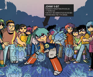 The 8th evil ex: Johnny 8-bit by REGEN-1
