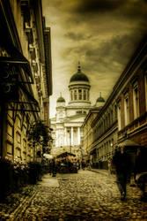 The streets of Helsinki by bluescript