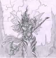 The mighty queen by metalfoxxx