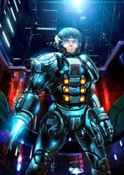 Space Soldier by fatalframerZer043