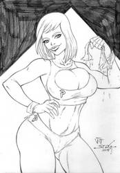 Power Girl by jucilano