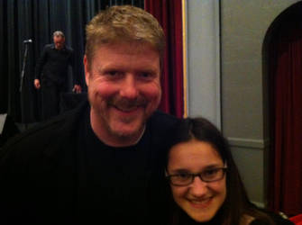 Tori with John Dimaggio by Kataang102