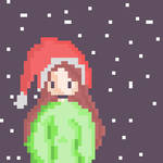My Icon/First Pixel art by EliseDesigns
