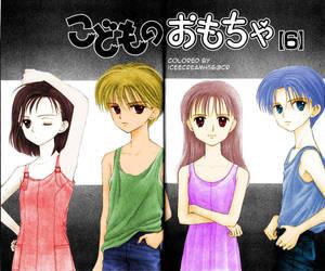 Kodocha Manga Coloring by iceecream456