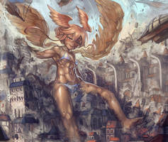 Garuda's Invasion by Yilx