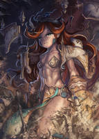 The Wrath of the Sand Priestess by Yilx