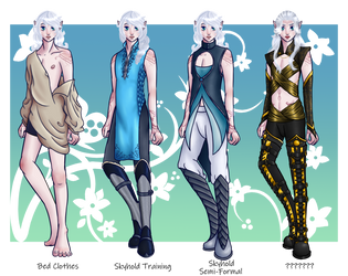 Aislyn Outfit Meme by Adriyel-chan