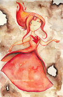 flame princess by Marmaladecookie