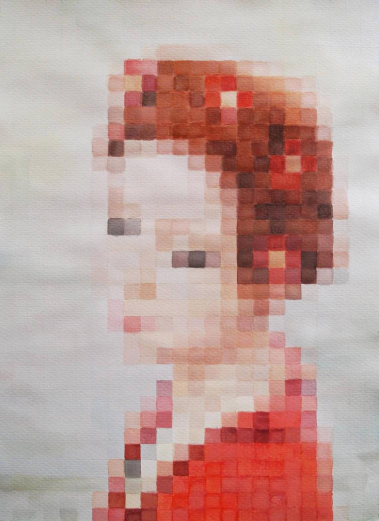 Pixel Portrait by Bmouat