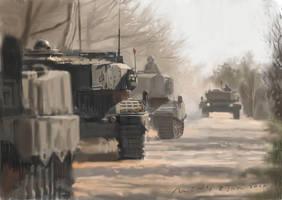 speedy_tank battalion by fLieRz