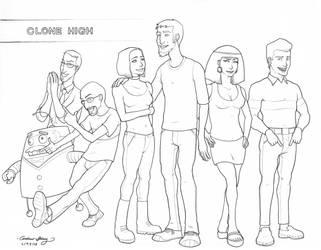 Clone High by silentsketcher