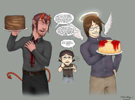 -SD- birthday cake by silentsketcher
