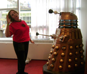 Red Shirt... 'Exterminate' by TinaCaper