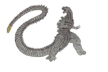Shin Godzilla by Beastrider9