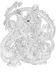 Shin Godzilla Meltdown by Beastrider9