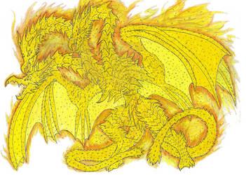 Planet Eater: King Ghidorah by Beastrider9