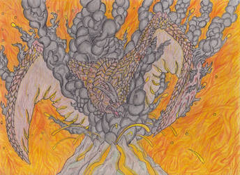 Rodan, The One Born of Fire by Beastrider9