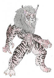 Primal Rage: Slashfang, God of Combat by Beastrider9