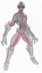 Biomass Effect: Salarian Bio-Armor by Beastrider9
