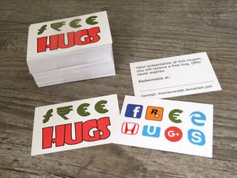 Free Hugs Coupon by thomasVanDijk