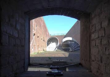 Fort 1881 - View from inside by thomasVanDijk