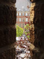 City Hall Leiden as seen from the Burcht by thomasVanDijk