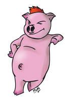 I Pig You by Matthieu-G