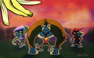 Donkey Kong Country by Spidersaiyan