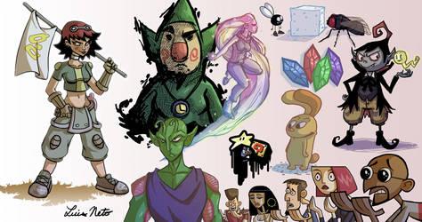 Random Doodles 4 by Spidersaiyan