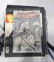 FanExpo SketchCover - Green-Goblin by Spidersaiyan