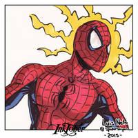 Inktober Day-26 - Spider-Man by Spidersaiyan