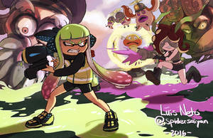 Splatoon by Spidersaiyan