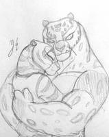 Tigress x Tai Lung by AniDragmire