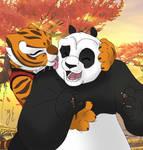 Po x Tigress by AniDragmire