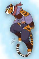 Master Tigress by AniDragmire
