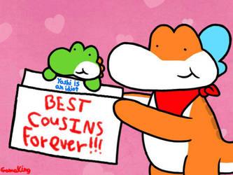 BCFs - Best Cousins Forever!!! by GameKing427